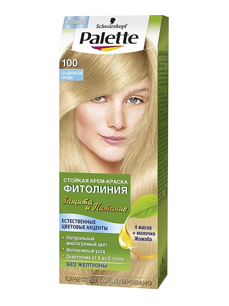 Краска для волос  Palette  Фитолиния скандинавский блондин 110мл.