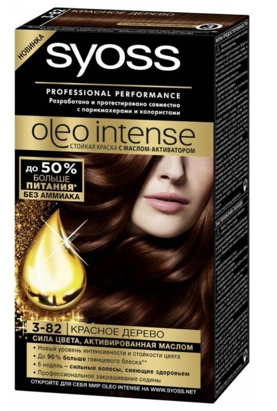 Краска для волос  Syoss Oleo Intense  Красное дерево 115мл.