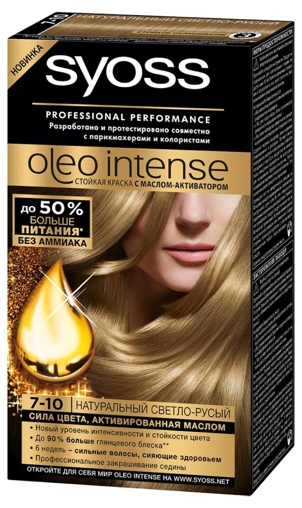 Краска для волос  Syoss  натуральный светло-русый 115мл.