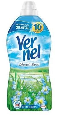 Кондиционер для белья  Вернель  Свежий бриз 1.82л.