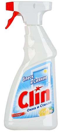 Средство  Clin  для мытья окон Лимон 500мл.