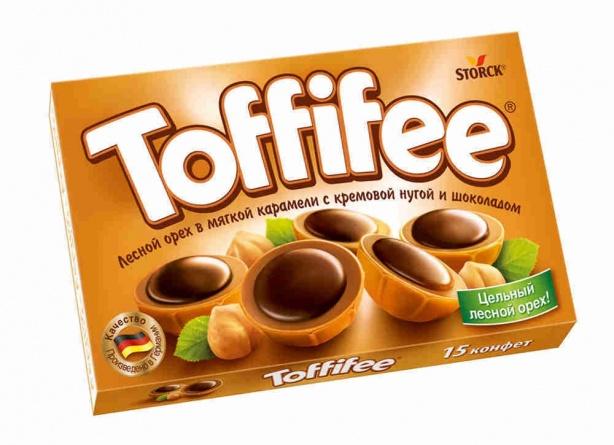 Конфеты  Toffifee  125гр