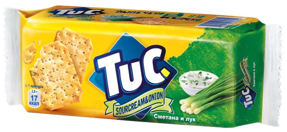 Крекер  Tuc  со сметаной и луком 100гр.
