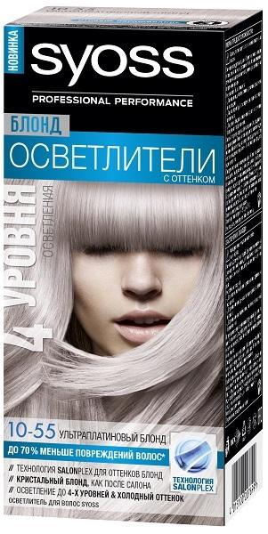 Краска для волос  Syoss  ультраплатиновый блонд 50мл.