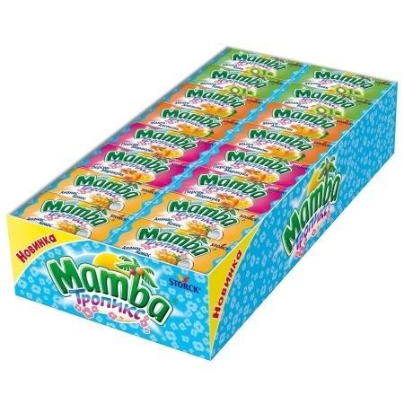 Жевательные конфеты  Мамба  тропикс 26.5гр.