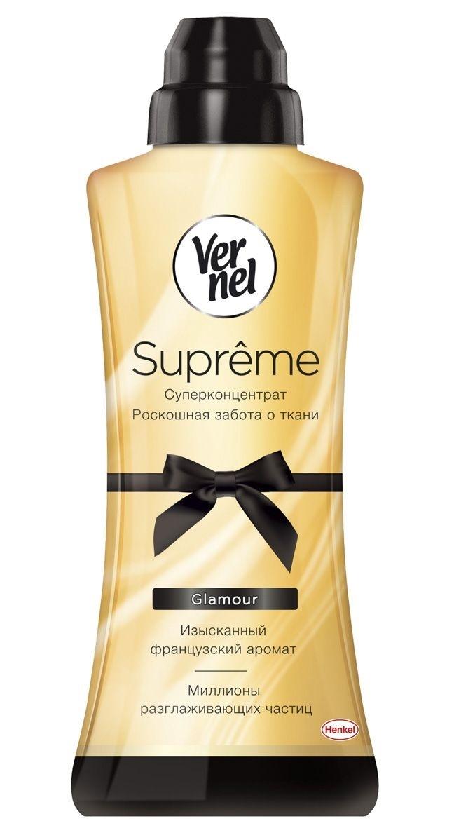 Ополаскиватель для белья  Vernel  Supreme Glamour 600мл.