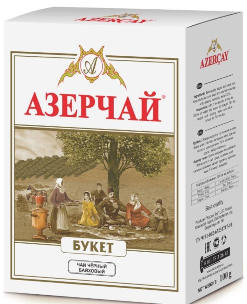 ЧАЙ AZERCAY BUKET TEA 100ГР.КАРТ/УПАК/30ШТ