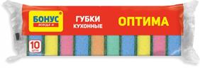 БОНУС Губка кухонная 10шт. (106шт/ящ) Россия