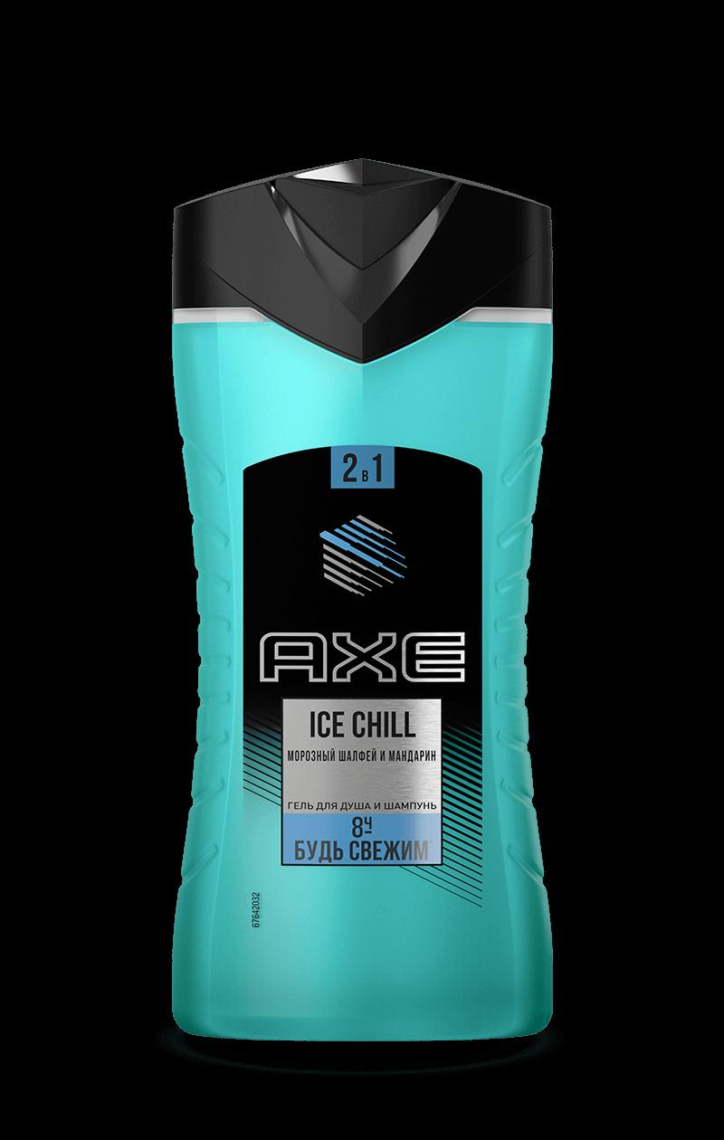 Гель для душа  Axe  Ice Chill 250мл.
