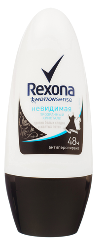 Дезодорант  Rexona  Прозрачный кристалл   Невидимая  50мл.