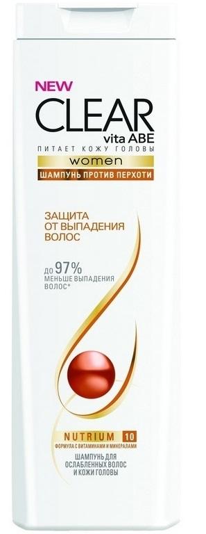 Шампнуь  Clear  Vita Abe против перхоти защита от выпадения волос 200мл.