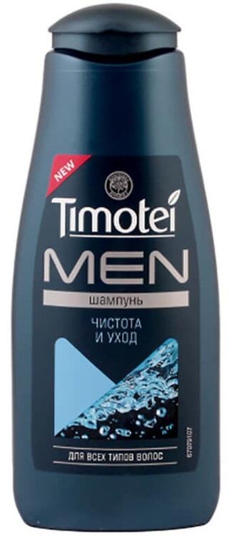 Шампунь  Timotei  Men для всех типов волос  Чистота и уход  400мл.