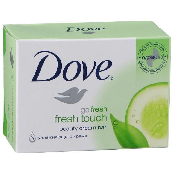 Крем-мыло  Dove  Прикосновение свежести 135гр.