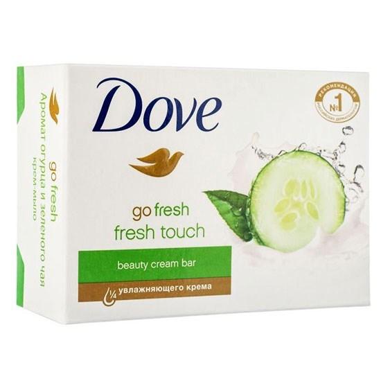 Крем-мыло  Dove  Прикосновение свежести 100гр.