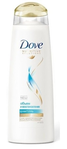 Шампунь  Dove Hair Therapy  Объем и восстановление 380мл.