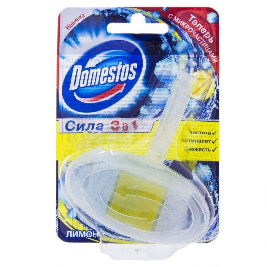 Блок гигиенический для унитаза  Domestos  Лимон 40гр.