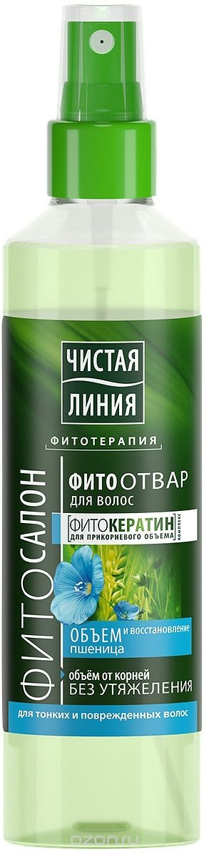 Ухаживающее средство для волос  Чистая Линия  Фитоотвар