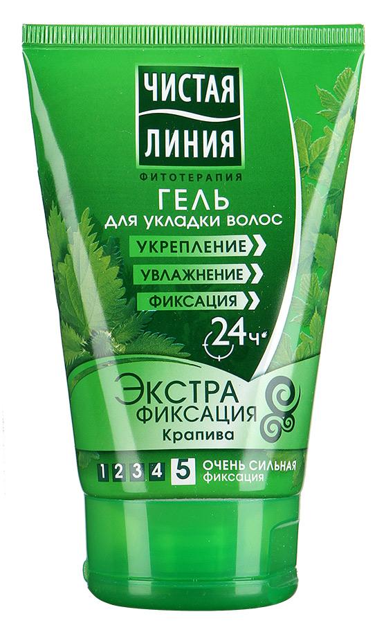 Гель для укладки волос  Экстрафиксация  120мл.