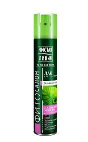 Лак для  волос  Чистая линия  природный блеск 200мл.