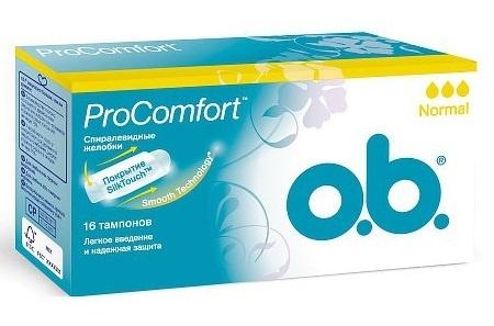 Тампоны  O.B  pro comfort normal 16шт.