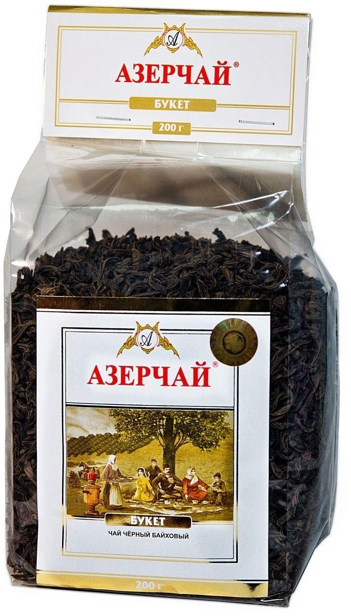 Чай черный байховый  Азерчай  листовой 1кг.