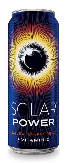 Напиток энергетический  Solar Power  ж/б 450мл.