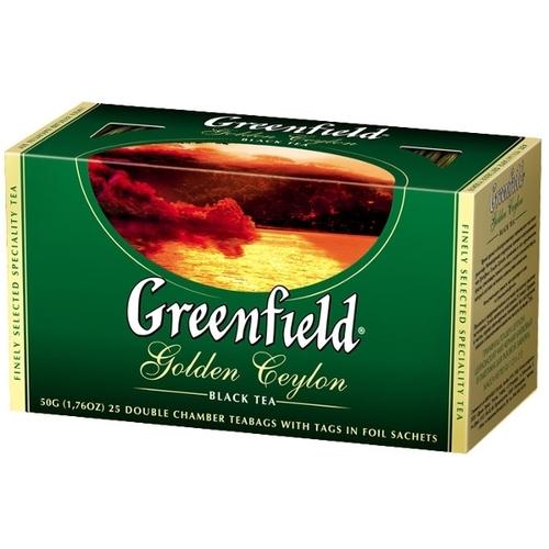 Чай  Гринфилд  Голден Цейлон 25*2гр.