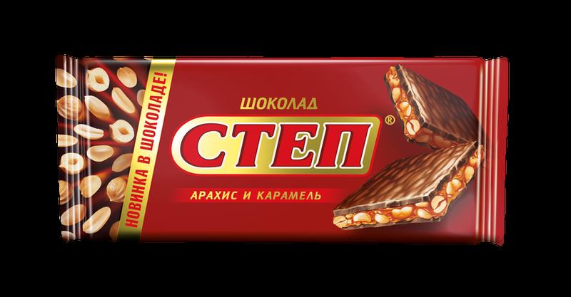 ШОКОЛАД СТЕП С НАЧИНКОЙ 100ГРХ15