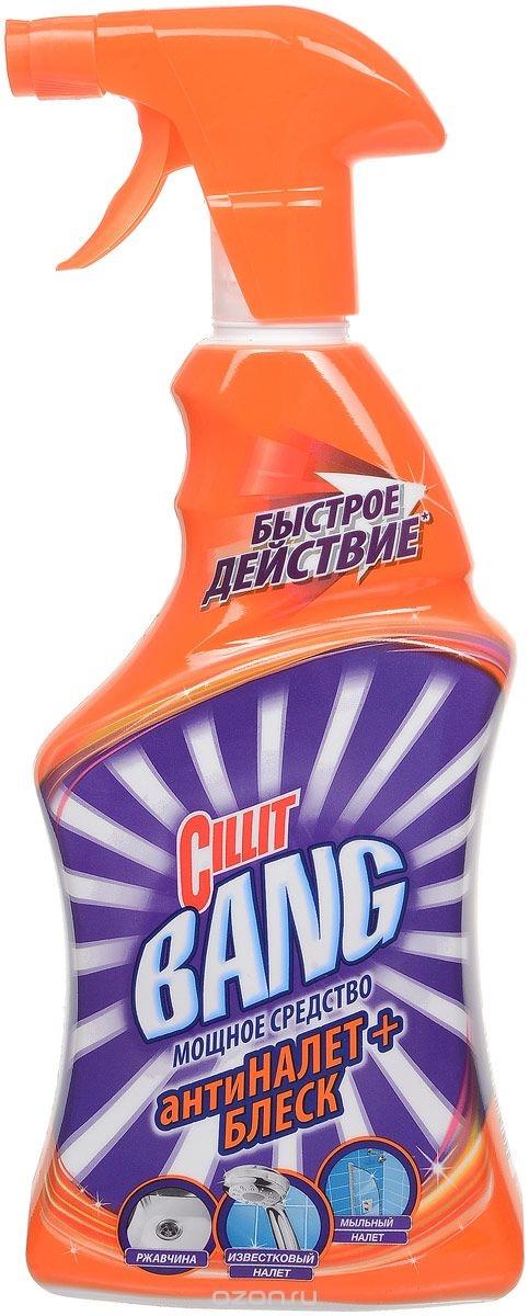 CIllit Bang чистящее средство для ванной антиНАЛЕТ+БЛЕСК (спрей)