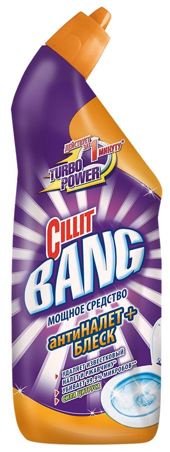 Гель Cillit BANG для чистки и дезинфекции туалета Цитрус