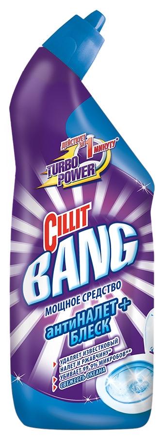 Гель Cillit BANG для чистки и дезинфекции туалета Свежесть океана