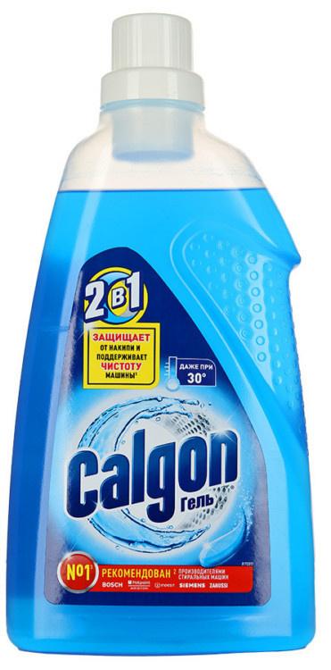 Гель  Calgon  для cмягчения воды и предотвращения образования накипи 2в1 1500мл.