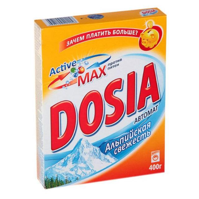 Dosia стиральный порошок Альпийская свежесть автомат 400гр.