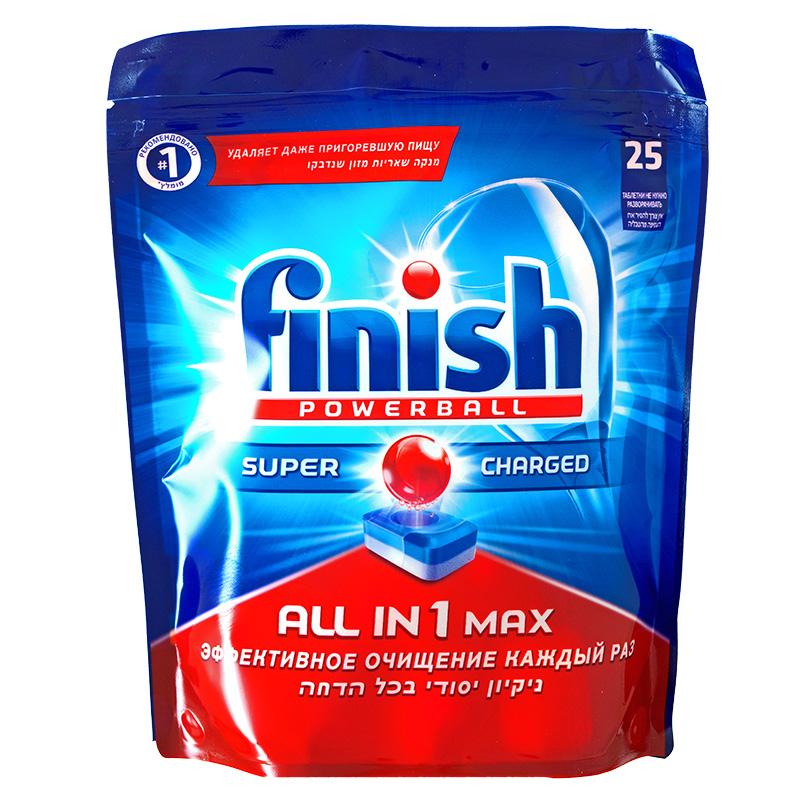 Средство для мытья посуды FINISH All in 1 Max