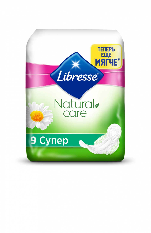 Гигиенические прокладки Libresse Natural Care Ultra Super