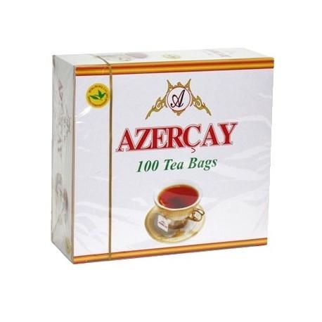 Чай Азерчай  Бергамот  черный 100 пак