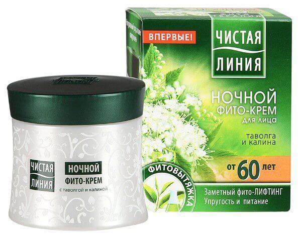 ЧИСТАЯ ЛИНИЯ НОЧН КР Д/ЛЦ 60+ ТВЛГ&КЛН 45МЛ