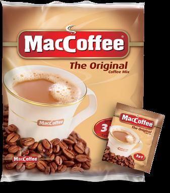 Напиток кофейный растворимый  MacCoffee  The Original 20гр*50шт.