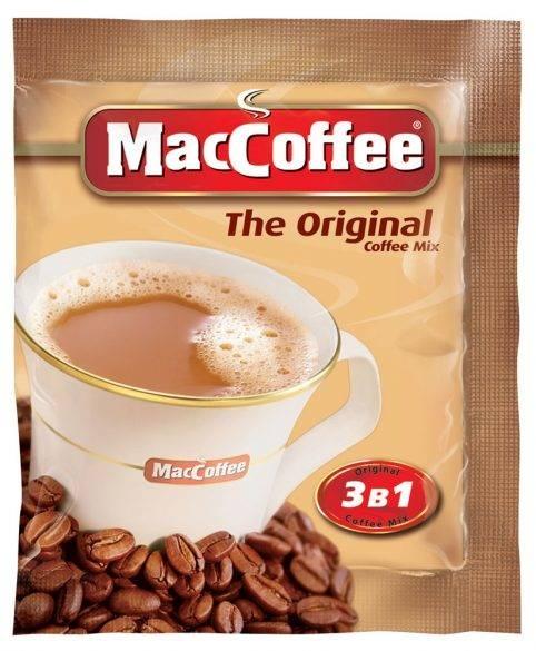 Напиток кофейный  MacCoffee  растворимый 3в1 20гр*100шт.