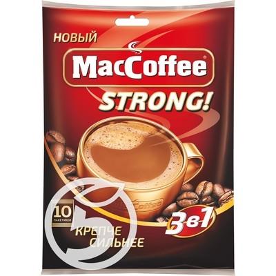 Напиток кофейный  MacCoffee  Strong растворимый 3в1 16г*50шт.