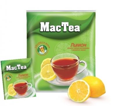 Чайный напиток растворимый  MacTea  лимон 20шт*16гр.