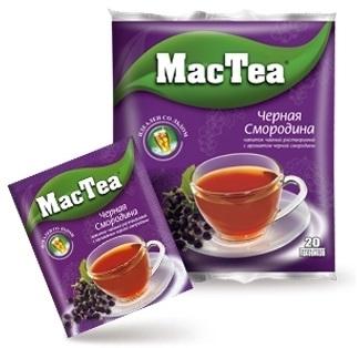 Напиток чайный растворимый  MacTea  чернвя смородина 20*16гр.