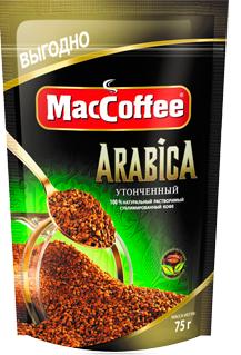 Кофе сублимированный растворимый  MacCoffee Arabica  75гр.