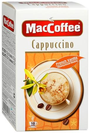 Напиток кофейный  MacCoffee  Капучино 12.5гр*10шт.