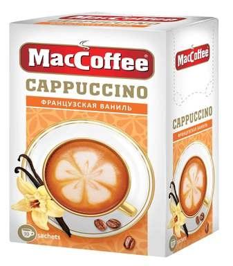 Кофейный напиток растворимый  MacCoffee  Капучино Французкая Ваниль 12.5гр*10шт.