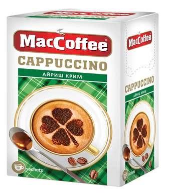 Кофейный напиток растворимый  MacCoffee  Капучино Айриш Крим 12.5гр*10шт.