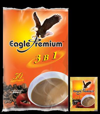 Напиток кофейный  Eagle Premium  18гр*50шт.