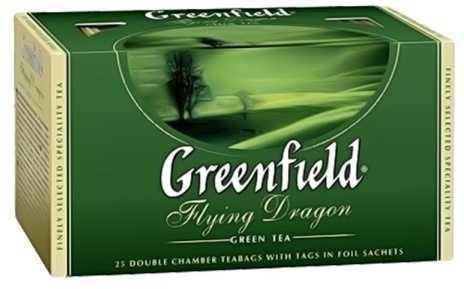 Чай  Гринфилд  Флаинг Драгон 25шт*2гр.