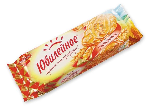 Печенье  Юбилейное  традиционное витаминизированное 112гр.