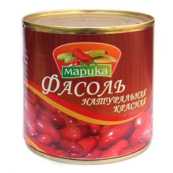 Фасоль красная натуральная  Марика  400гр.